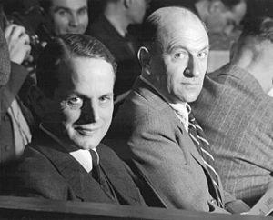 Otto Ohlendorf - Ohlendorf (left) with Heinz Jost