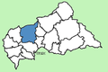 Ouham Prefecture Central African Republic locator.png