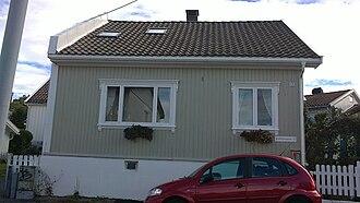 Arne Nordheim - Arne Nordheim's childhood home at 13 Øvre Jegersborggate.