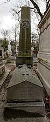 Alphée Dubois: Tomb of Jules Janssen (1824-1907)