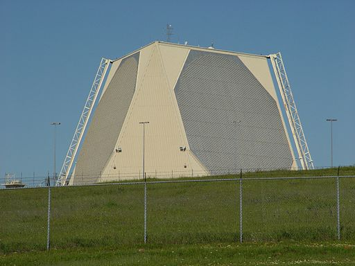 PAVE PAWS Radar, Beale AFB, USA