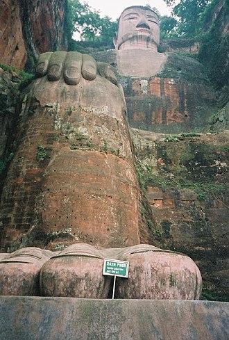 Leshan Giant Buddha - Image: PRC17