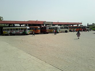 PEPSU Road Transport Corporation - PRTC Bus Station at Budhlada, Mansa, Punjab