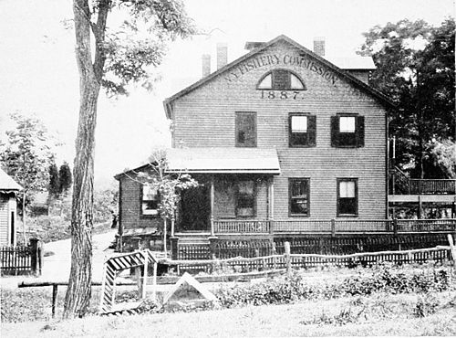 PSM V47 D775 New york fishery commission hatchery long island 1887.jpg
