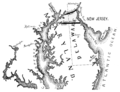 PSM V69 D541 Proposed canal between the delaware and chesapeake.png