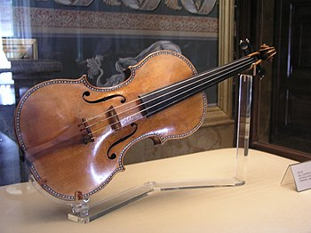 The Spanish II (1687-1689) in the Stradivarius collection of the Palacio Real, Madrid, Spain