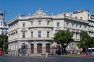 Palace of Linares - Image: Palacio de Linares 01