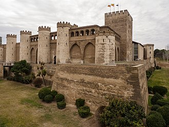 Aljafería - Aljafería Palace.