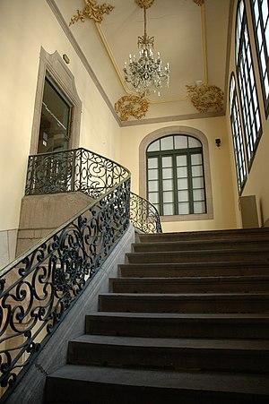 Virreina Palace - Image: Palau de la Virreina Escales