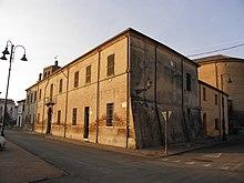 Palazzo del Vescovo, a Massa Fiscaglia.