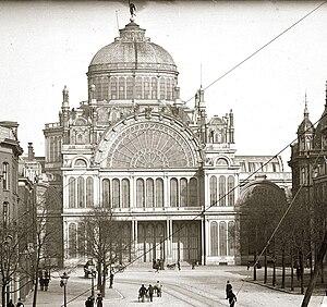 Paleis voor Volksvlijt - The Palace in 1890.