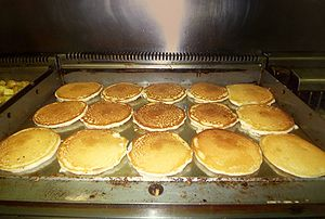 Griddle - Image: Pancakesongriddle