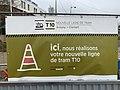 Panneau Annonce Chantier Construction Tramway IdF Ligne 10 Avenue Édouard Herriot - Le Plessis-Robinson (FR92) - 2021-01-03 - 2.jpg