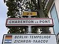 Panneau entrée Charenton Pont Rue Paris - Charenton-le-Pont (FR94) - 2020-10-16 - 2.jpg