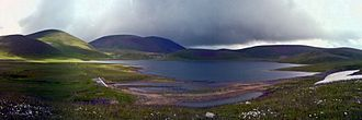 Lake Akna (Kotayk) - Image: Panorama Lake Aknalich aka Ghanigel
