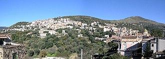 Camerota - Image: Panorama Lentiscosa ridimensionto per wikipedia