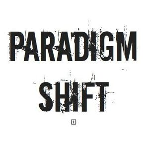 "English: A logo of the band ""paradigm Shi..."