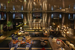 Paramount Hotel - Paramount Hotel - Wikipedia, the free encyclopedia - In 1990, the hotel, under the ownership of Ian Schrager and redesigned by   Philippe Starck, reopened as the Paramount Hotel. The hotel underwent a ...