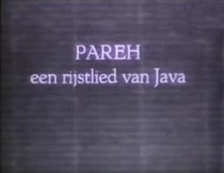 <i>Pareh</i> 1936 film by Mannus Franken, Albert Balink