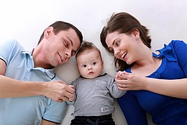 File:Parents and their baby.jpg