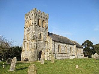 Falmer - Image: Parish church, Falmer