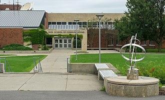 Roy H. Park School of Communications - Image: Park School of Communications, Ithaca College