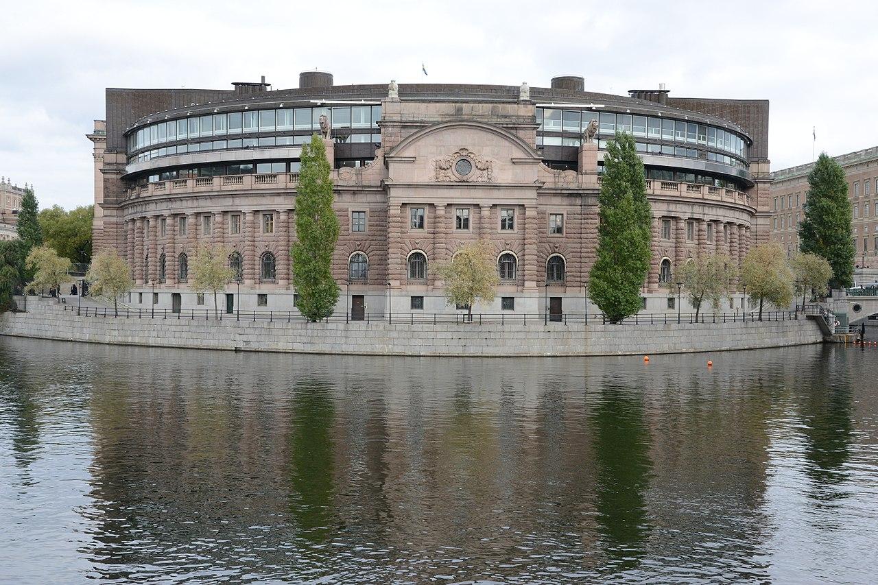 Ett absurt mote i riksdagshuset