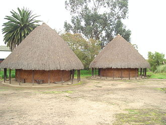 Muisca architecture - Replica of Muisca bohíos