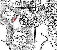Partial Map of downtown Rome during the Roman Empire large with scalae Gemoniae marked.jpg