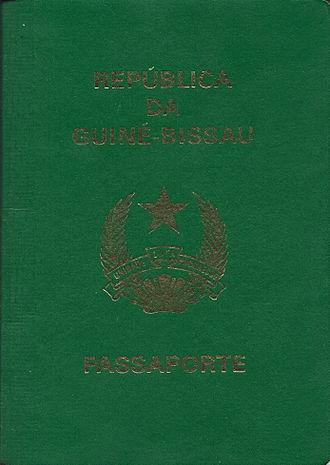 Guinea-Bissau passport - Guinea-Bissau pre-biometric passport