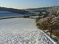 Pastures in snow, Fingest - geograph.org.uk - 1033798.jpg