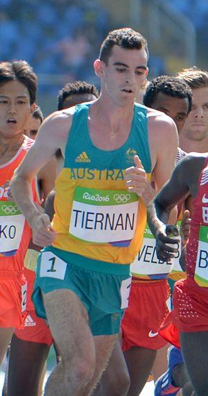 Patrick Tiernan - Tiernan at the 2016 Olympics