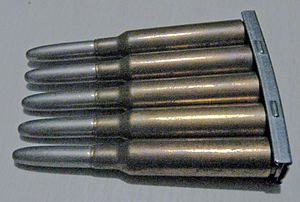 6.5×55mm - Swedish 6.5×55mm skarp patron m/94/Cartridge, ball m/94 ammunition