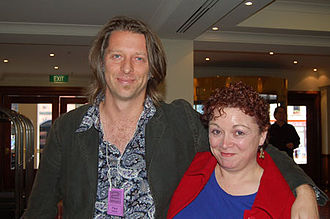 Paul Haines (fiction writer) - Image: Paul Haines and Karen Miller
