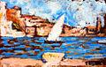 Paul Signac - La Tartane, Collioure. 1887.jpg