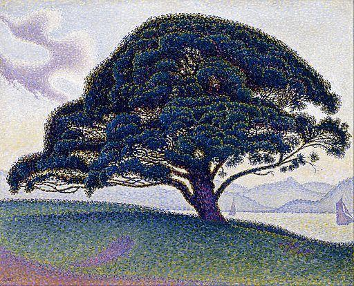 Paul Signac - The Bonaventure Pine - Google Art Project