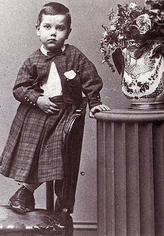 Paulding Farnham - Paulding Farnham at age 4 in 1864.