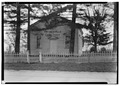 Paynesville Cemetery Chapel, Rock Creek Vicinity, Oak Creek, Milwaukee County, WI HABS WIS,40-PAYNV,1-1.tif