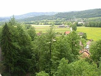 Savoie - Image: Paysage de l'avant pays savoyard