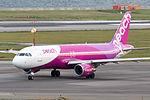 Peach Aviation, MM107, Airbus A320-214, JA802P, Departed to Sapporo, Kansai Airport (16574960354).jpg