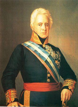 Pedro Agustín Girón - Portrait by Francisco Jover