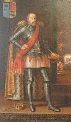Pedro de Atarés - Portrait of Pedro de Atarés at the Zaragoza Museum