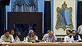 Pema Khandu, the Chief Minister of Bihar, Shri Nitish Kumar, the Deputy Chief Minister of Delhi, Shri Manish Sisodia and the Chief Minister of Gujarat, Shri Vijay Rupani, at the NITI Aayog Governing Council meet.jpg