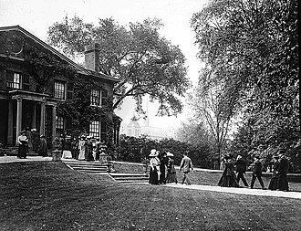 Grange Park (neighbourhood) - The neighbourhood took its name from The Grange, a Georgian styled residence built in 1817.