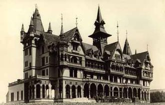 Maurice Curtis - Peralta Park Hotel, 1889
