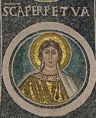 History of Roman-era Tunisia - Mosaic of St Perpetua, Croatia