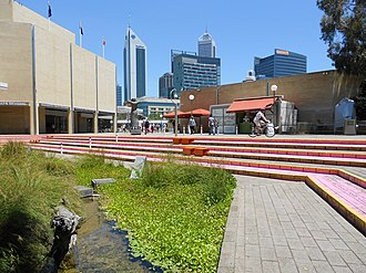 Perth Cultural Centre - Art Gallery of Western Australia in the Perth Cultural Centre