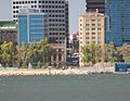 Perth waterfront from Sth Perth 27 January 2014,jpg.JPG