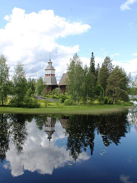 File:Petajaveden kirkko ulkoa.jpg