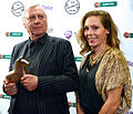 Peter Greenaway and Eva Röse, Nov 2013.jpg